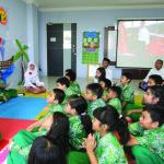 Dahlan Iskan jadi Guest Teacher di SDIA 35 (BI)