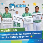 Murid SMPI Al Azhar 13 Raih Jalur Prestasi Akademik, Non Akademik  & Kawasan - Tiket ke SMA Ungg...