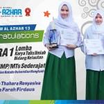 Murid SMPIA 13 Juara 1 Lomba KIR Se Surabaya