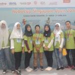 Murid SMPIA 13 raih juara 1,2 & 3 Robocup Singapore Open