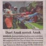 Dari Anak Untuk Anak - Jawa Pos 10 April 2016