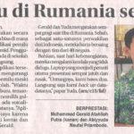 Tim KIR SMPIA 13 Raih Perunggu di Rumania @ Jawa Pos 16 Juli 2016