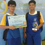 Murid SMPIA 13 Juara 2 Olimpiade Bahasa Inggris tingkat SMP/MTs sederajat se-Jawa Timur tahun 2017