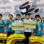 """Students of Al Azhar 35 Surabaya as a 1st, 2nd, and 3rd winner in Robotic Competition Mecbot  """"..."""
