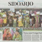 Jawa Pos 20 April 2017 Warna-warni Peringai Hari Kartini - Al Azhar Sidoarjo