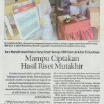 KIR SMPIA 13 Surabaya, Jawa Pos 2 Mei 2017