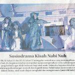 Sosiodrama Kisah Nabi Nuh AS, Al Azhar Sidoarjo, Jawa Pos 7 Mei 2017