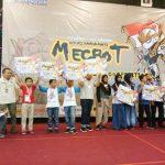 Pestasi Evan Abhaya B dari Tim Robotik SDIA 11 Surabaya meraih Juara III Lomba Robotik di Mecbot Nas...