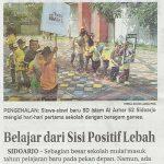 Hari-hari pertama sekolah di SDIA 52 Sidoarjo - Jawa Pos 12 Juli 2018