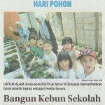 Bangun Kebun Sekolah, Jawa Pos 23 November 2018 hal 28