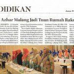 Rakornas Al Azhar Se Indonesia di Malang - Jawa Pos Radar Malang hal 2 Jumat 23 November 2018