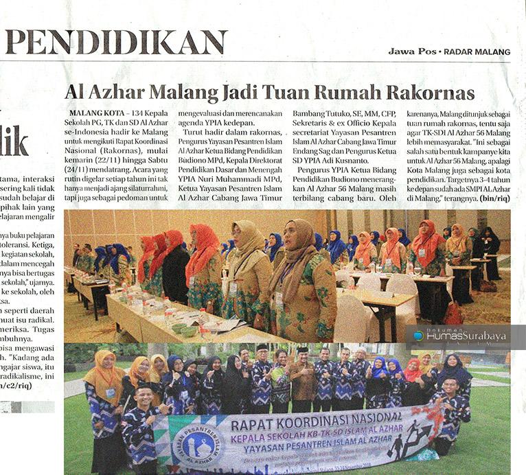 rakornas-al-azhar-se-indonesia-jawa-pos-radar-malang-halaman-2-jumat-23-november-2018-web