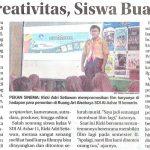 Asah Kreativitas, Siswa Buat Film, SDIA 11, Jawa pos 20 Des 2018