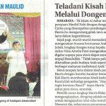 Perayaan Maulid Nabi, KB-TKIA 35 , Jawa pos Hal23 Minggu 2 Desember 2018