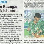 Pengharum Ruangan dari minyak jelantah karya Murid SDIA 11 Surabaya, Jawa Pos 19 Februari 2019
