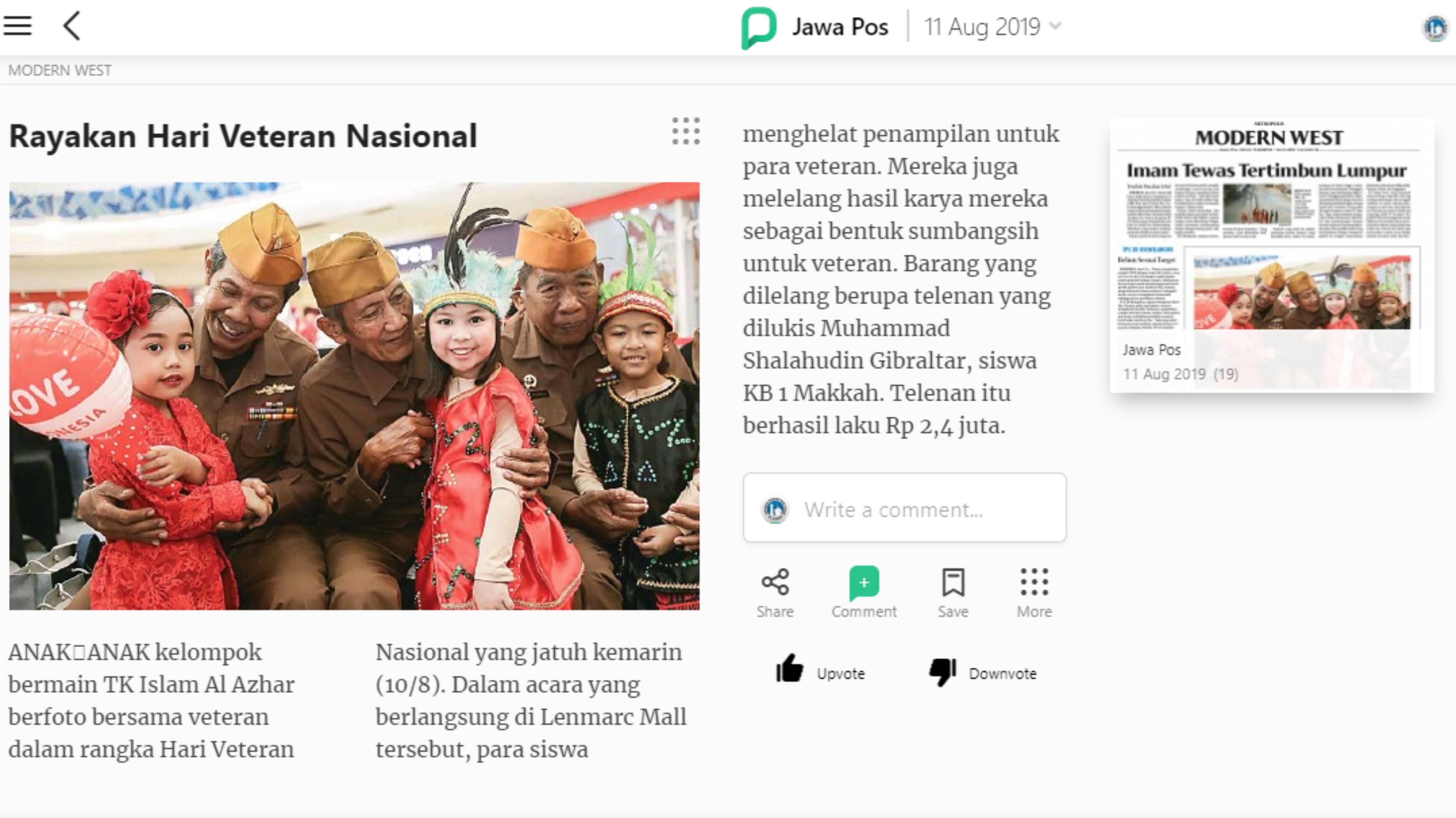rayakan-hari-veteran-nasional-kbtkia-15-jawa-pos-minggu-11-agustus-2019-pressder