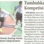 Tumbuhkan Jiwa Kompetisi lewat Olah Raga - Jawa Pos 25 Agustus 2019