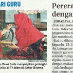 Hari Guru TKIA 15 Surabaya, Jawa Pos 26 November 2019