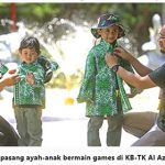 Peringatan hari Pahlawan | KB-TK Islam Al Azhar 35 Surabaya | jawa Pos 11 November 2019