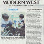 Belajar Menanam Sayur | KB-TK Islam Al Azhar 35 Surabaya | Jawa Pos 12 Januari 2020