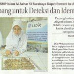 2 Siswa SMP Islam Al Azhar 13 Surabaya dapat reward ke Ajang Ilmiah di AS | Jawa Pos 21 Januari 2020