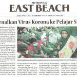 Kenalkan Virus Korona ke pelajar (SD Islam Al Azhar 35 Surabaya), Jawa Pos 31 Januari 2020
