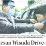 Wisuda Drive-thru SD Islam Al Azhar 11 Surabaya, Jawa Pos 15 Juni 2020